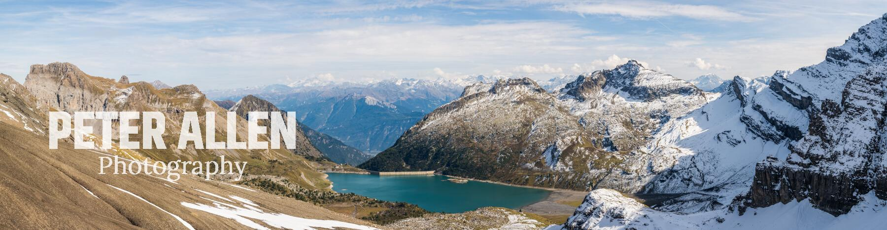 Panorama from the Col de Susanfe
