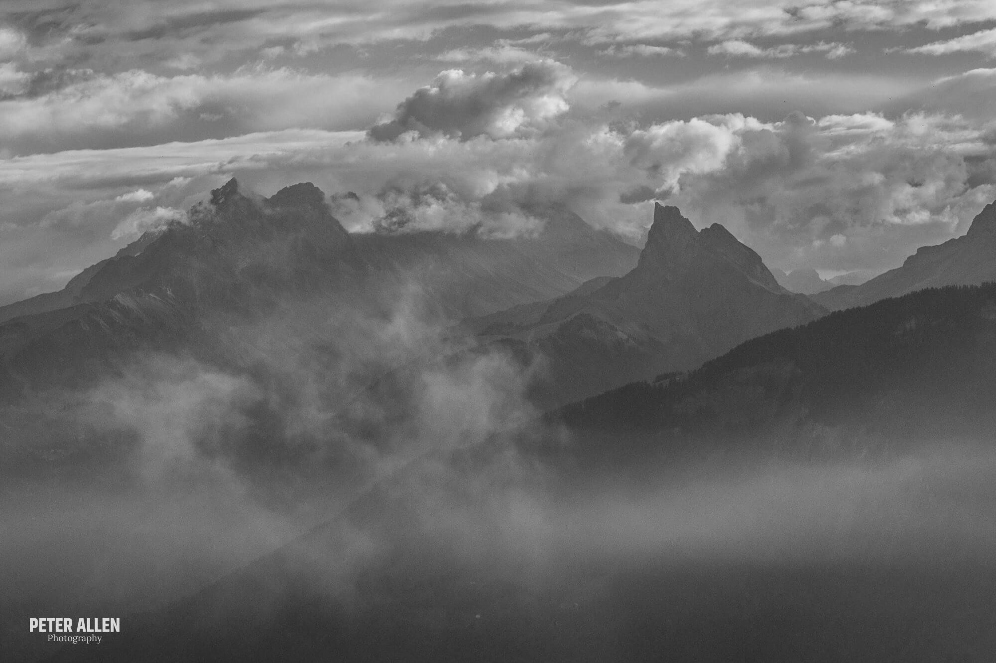 Dramatic Alpine Landscape