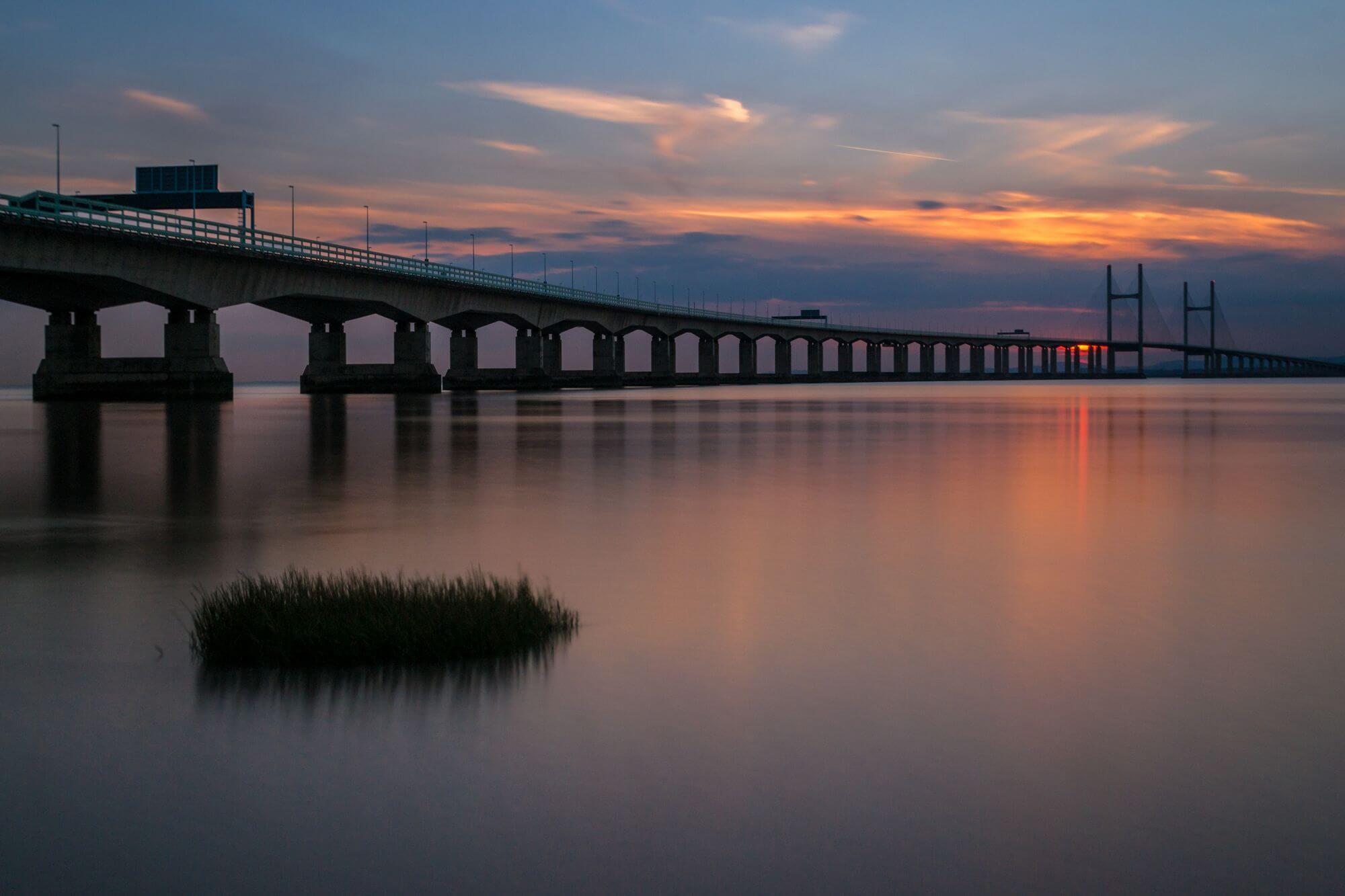 Severn Crossing Sunset