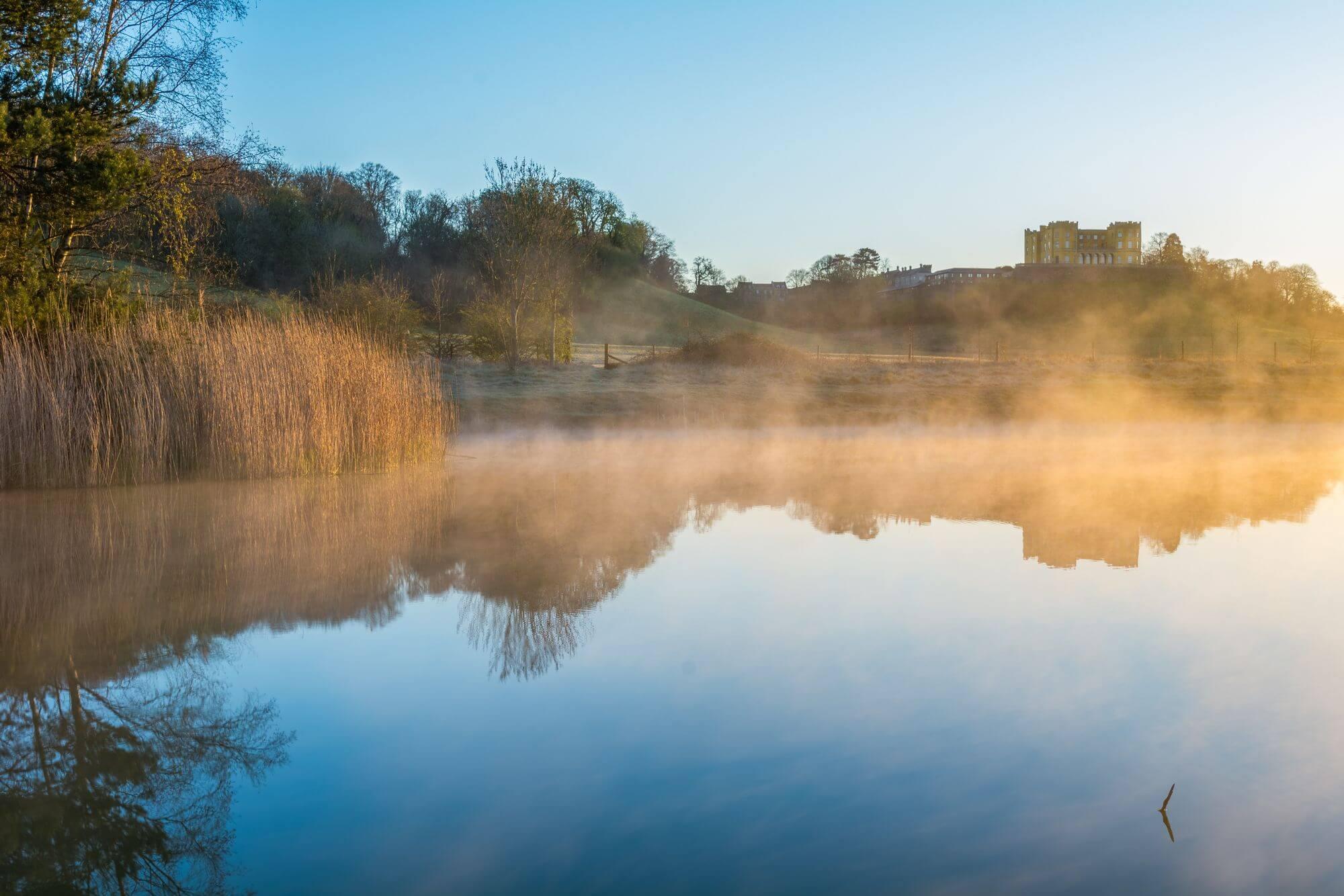 Misty Dutchess' Pond, Stoke Park