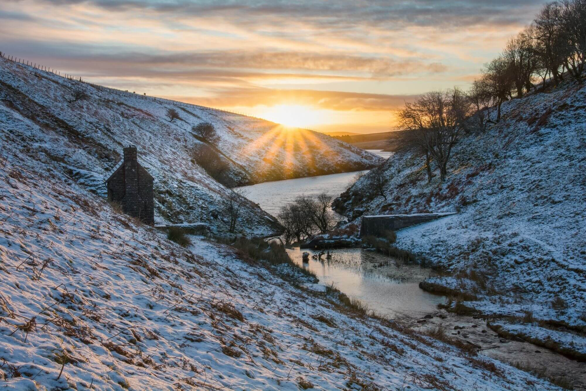 Grwyne Fawr at Sunrise