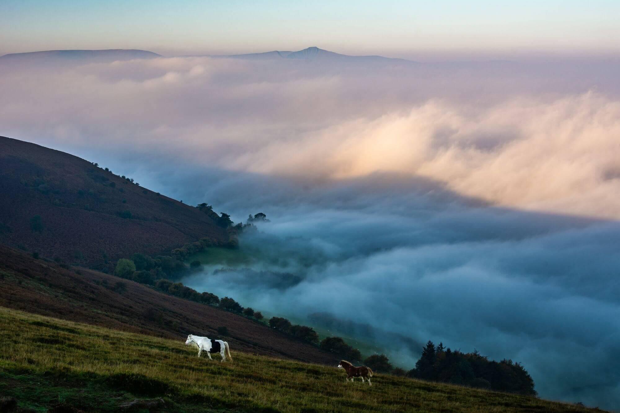 Mynydd Llangorse Inversion